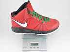 lebron8 v2 christmas ounce Weightionary
