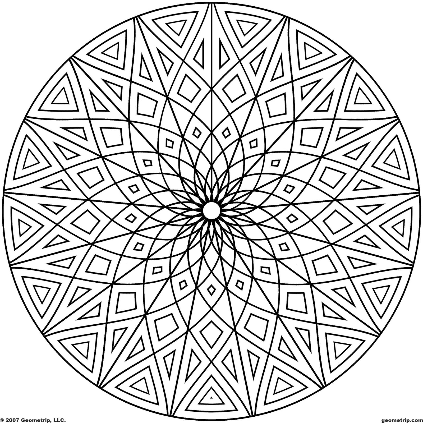 abstract coloring pages printable - Beautiful Abstract Coloring Pages Others ColoringPedia