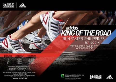 Ten Things About Adidas King of The Road 2010
