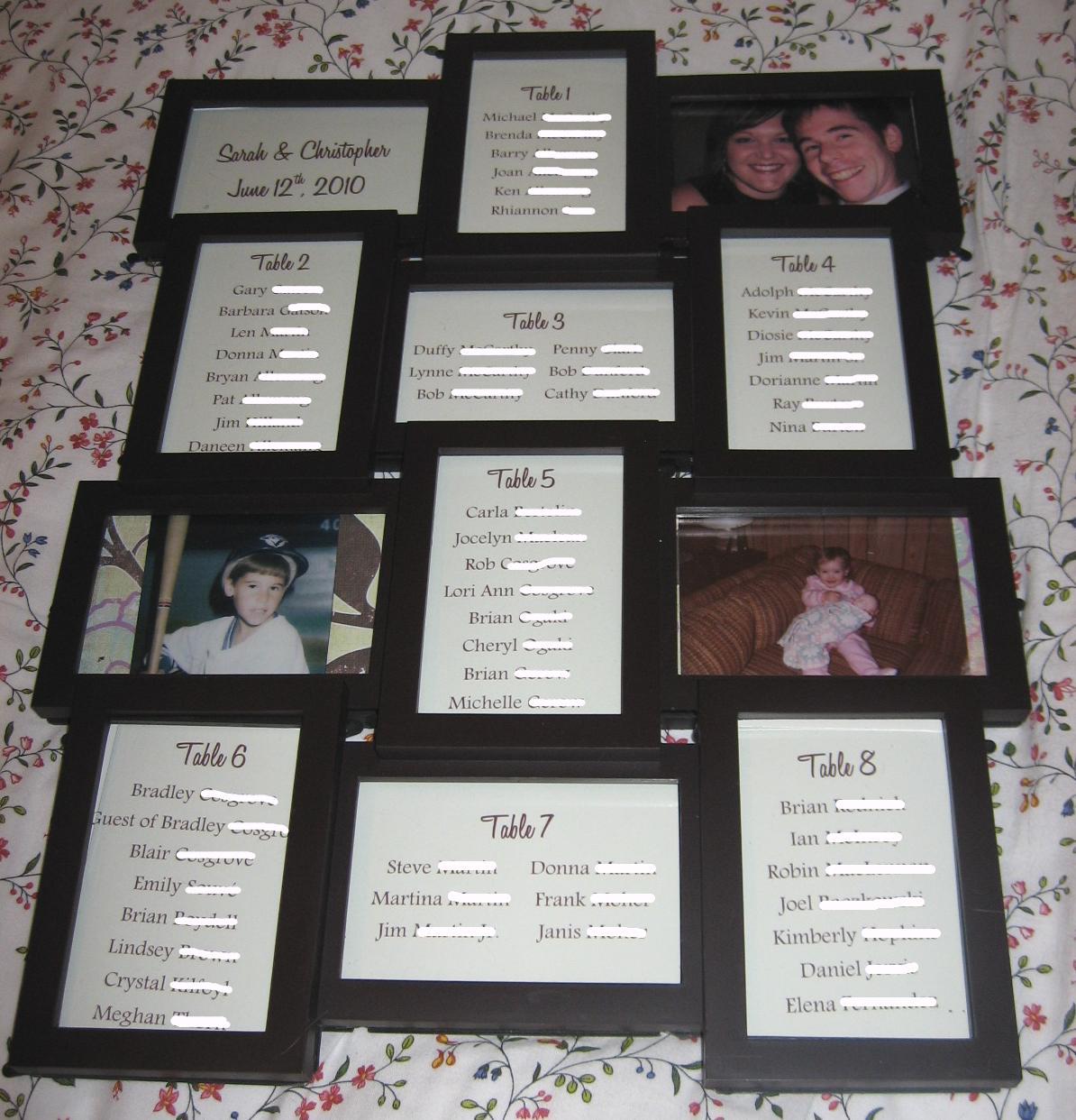 Aminatta\'s blog: Seating Chart : wedding