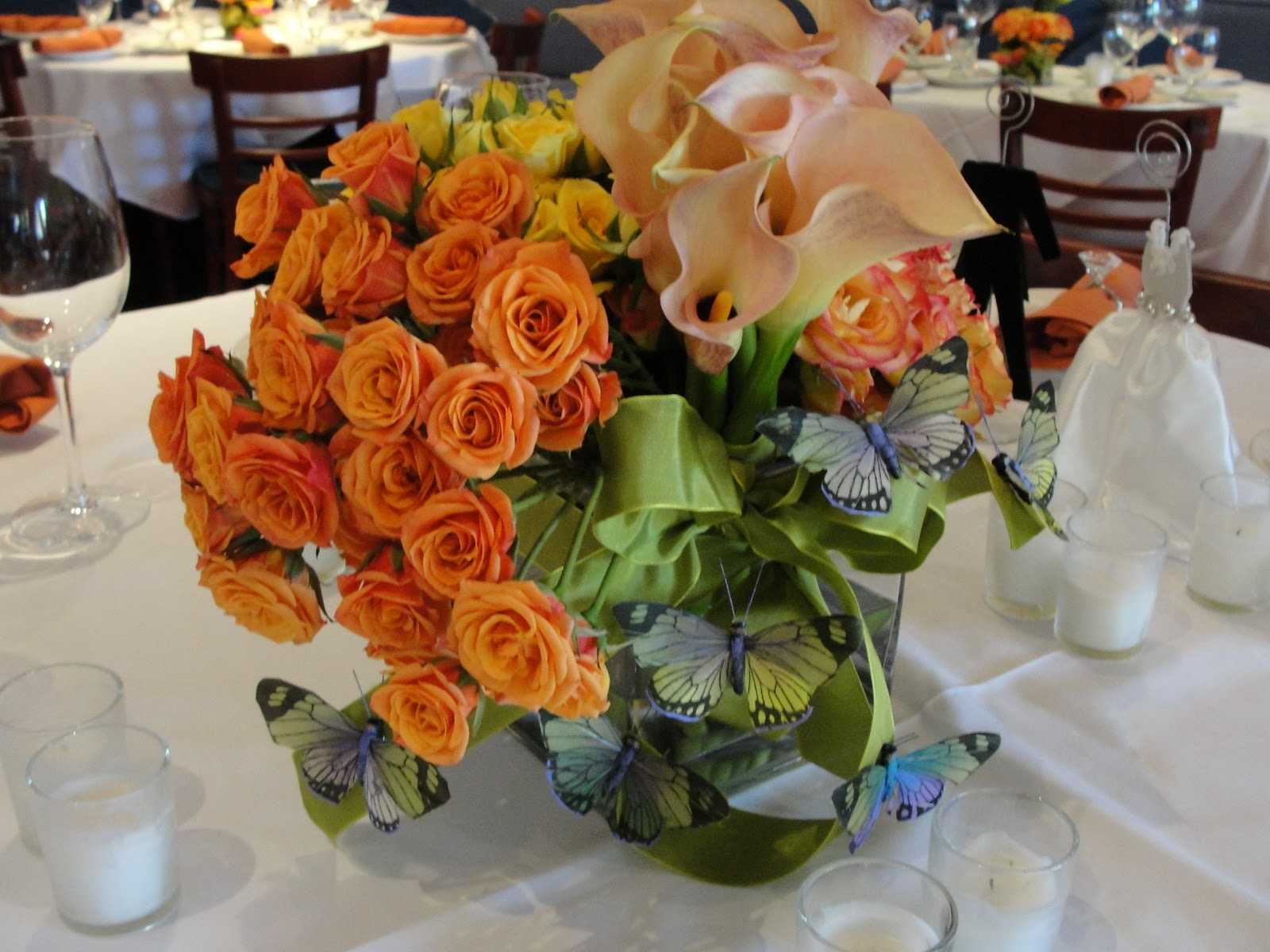 head table centerpieces for