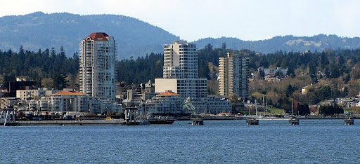 Nanaimo cruise ship dock