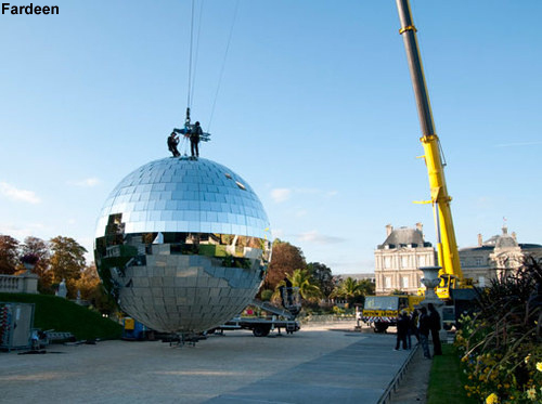 biggest disco ball