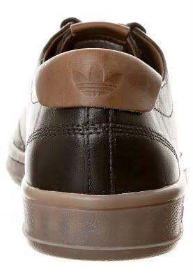 zapatillas piel marron adidas