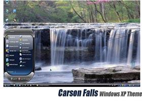 تم جذاب و بسیار دیدنی Carson Falls مخصوص ویندوز XP