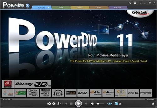 Cyberlink PowerDVD Ultra 11