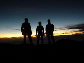 Le sommet du Semeru