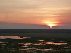 Coucher de soleil à Ubirr