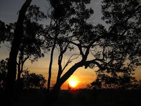 Encore un superbe coucher de soleil