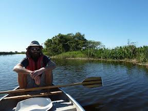 Olivier en kayak