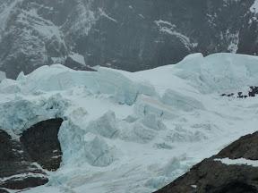 Séracs du glacier Frances