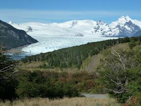 Arrivée au glacier Perito Moreno