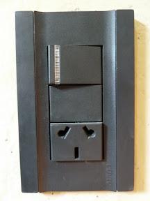 Prise à interrupteur