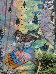 Peinture murale de Valparaíso (Chingolo)