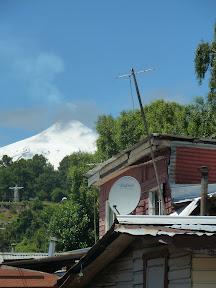 Volcan Villarrica depuis Pucón