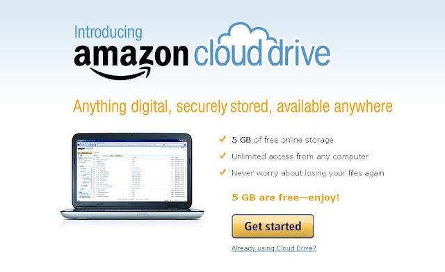 amazon drive free online cloud storage