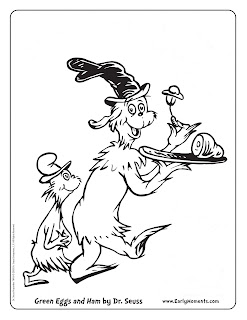 dr seuss coloring pages printable - Best free printable Dr Seuss coloring pages Examiner