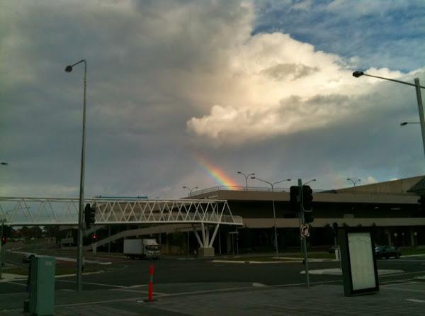 rainbows over belconnen