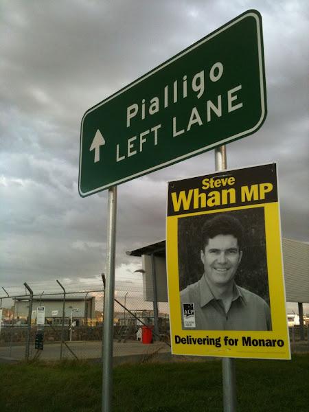 steve whan illegal postering