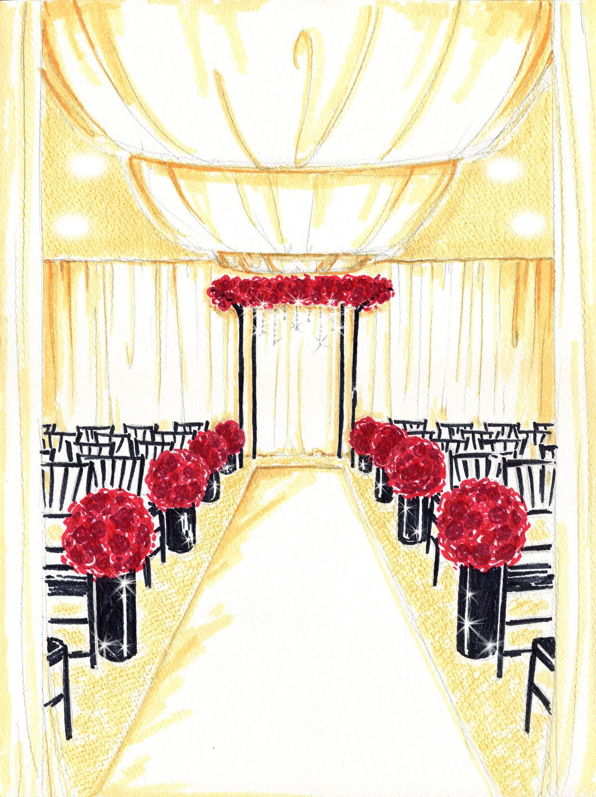 Wilmide\'s blog: black and red wedding