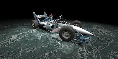 болид Sukhoi F1 car 3