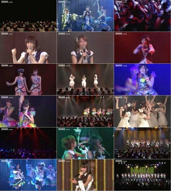 "(LIVE)(公演) NMB48 チームM ""RESET"" 公演 140728"