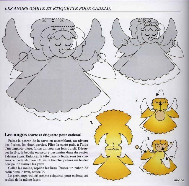 Объемный ангелочек своими руками 7
