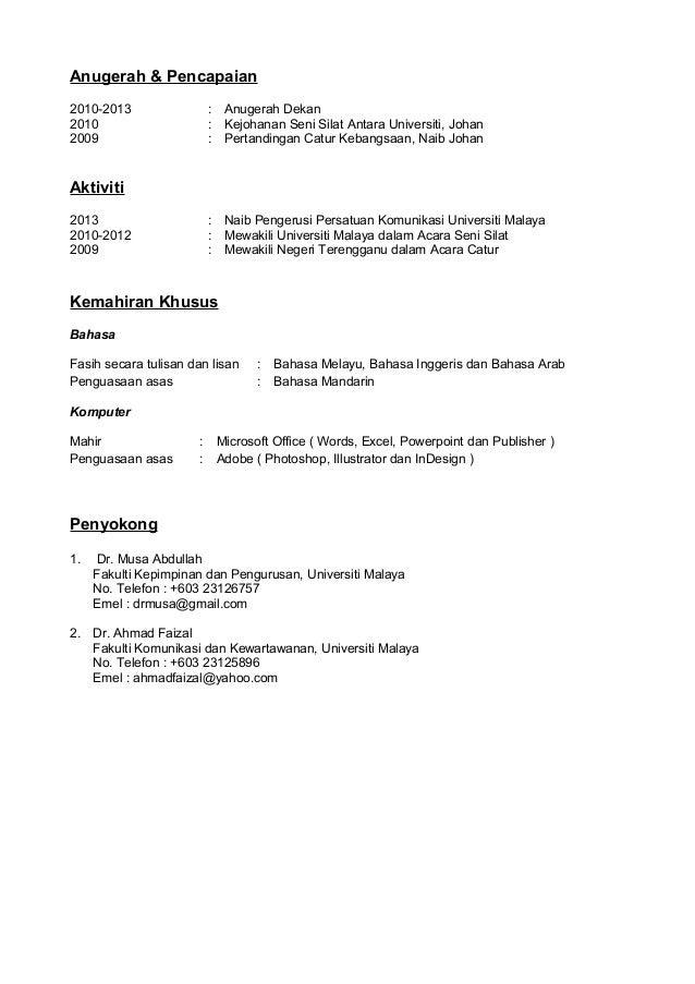 contoh cover letters Pertamini
