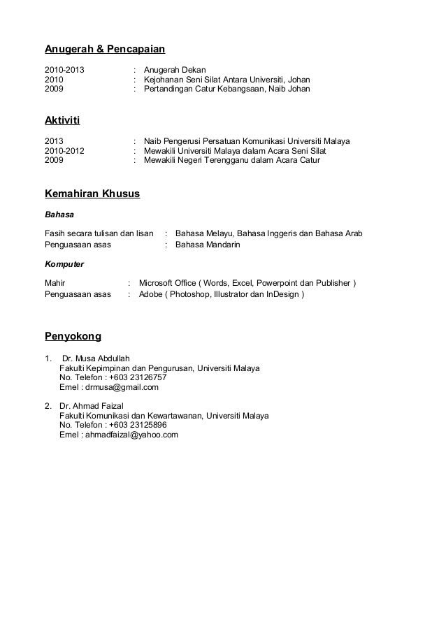 Pudocs New Sle Resume Best Solutions Of Contoh Resign Letter Dalam Bahasa Melayu