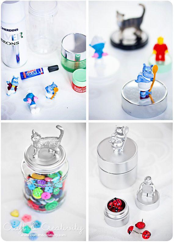 Как сделать вещи для игрушек из киндера