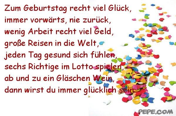 Картинка поздравление с днем рождения на немецком 81