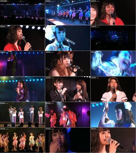 "(LIVE)(公演) AKB48 チーム4 ""アイドルの夜明け"" 前田美月の生誕祭 141016"