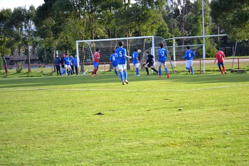 Gol de IVAN que deu a vitoria aos xuvenís fronte As Pontes (17/02/2015)