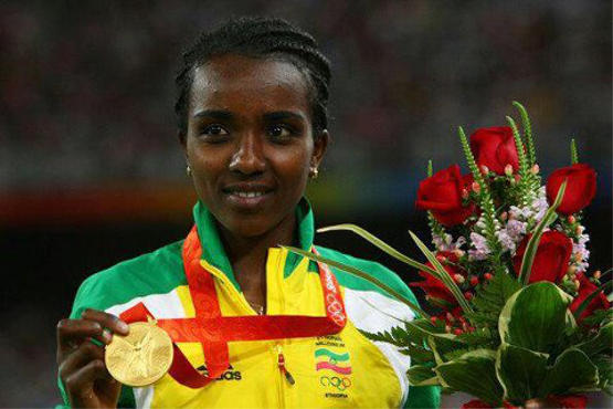 Tirunesh Dibaba Kenene, Oro, 5000, lisos, Juegos Olímpicos, 2012