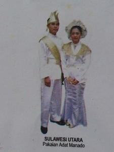 Pakaian Adat Sulawesi Utara Pakaian Tradisional Sulawesi Utara 225x300 Pakaian Adat Tradisional Indonesia