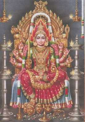 Goddess Mariamman Image