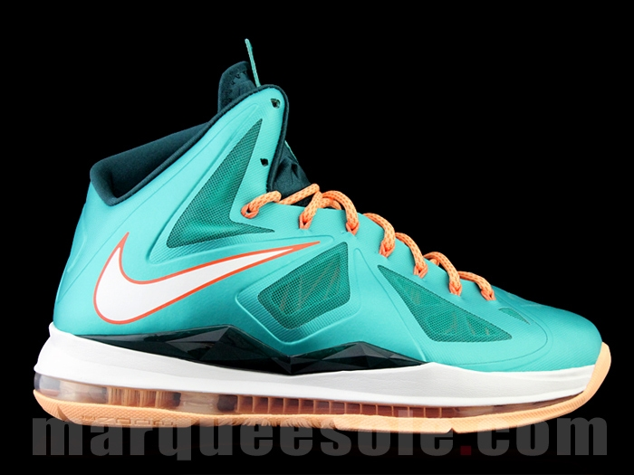 First Look at Nike LeBron X (10) Miami Dolphins   NIKE LEBRON ...