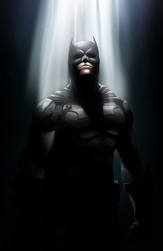 The Dark Knight de Nimesh Niyomal