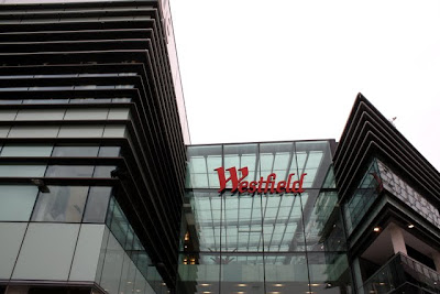 Westfield Stratford City shopping center in London England