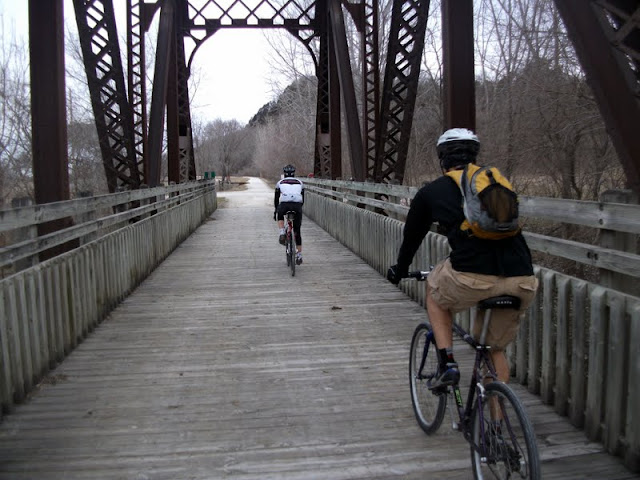 Bridge on the Katy Trail