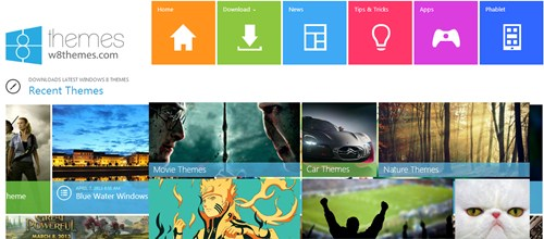 tema baru windows 8
