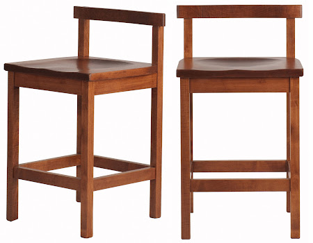 Takara Barstool in Red Cherry