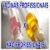 Vacinas profissionais X vacinas não profissionais