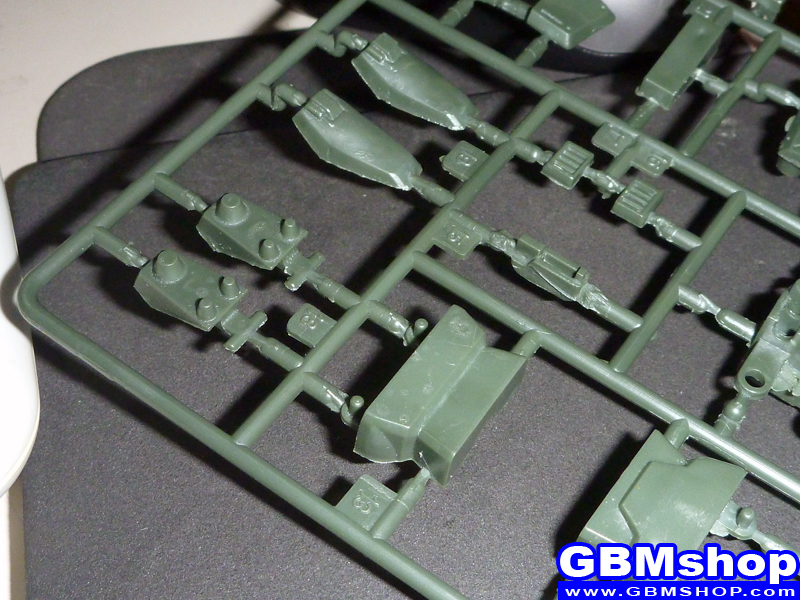 making โมจีน 1/144 RGM-79[G] GM Sniper Desert Eagle