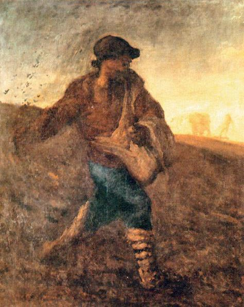 Jean-François Millet - The sower 1850