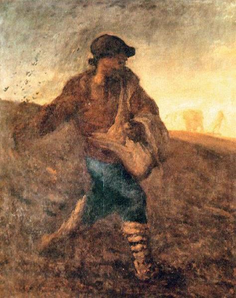 Jean-François Millet - The sower 1850