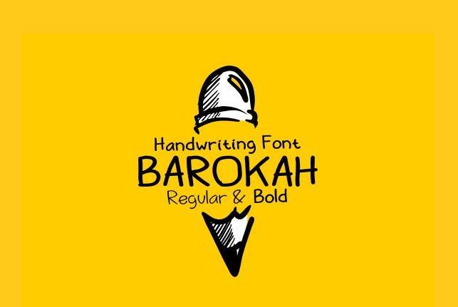 Barokah Free Fonts
