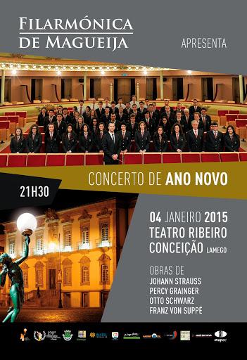 Concerto de Ano Novo em Lamego ao som da Filarmónica de Magueija