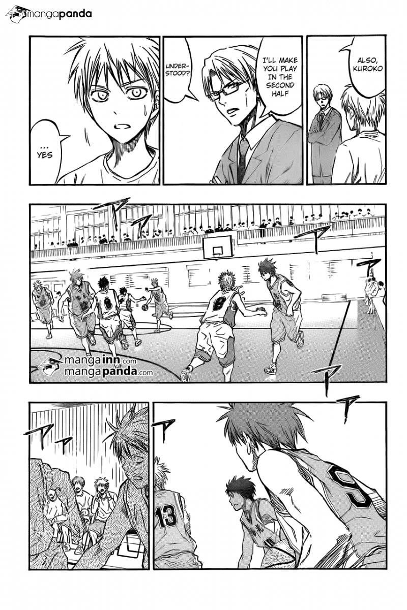 Kuroko no Basket Manga Chapter 209 - Image 11
