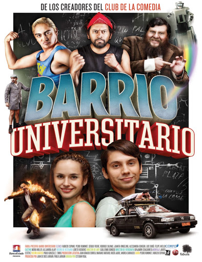 Barrio Universitario (2013) [Latino]